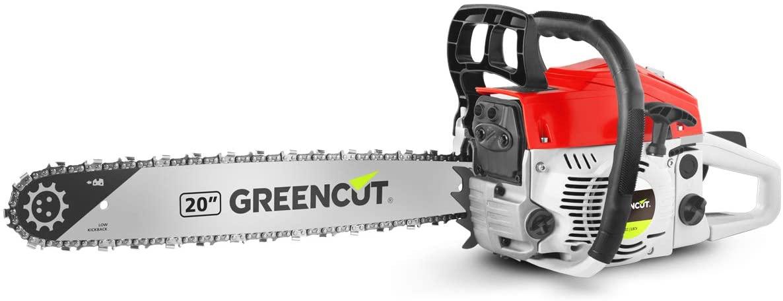 """Motosierra gasolina 20"""" Greencut solo 59.9€"""
