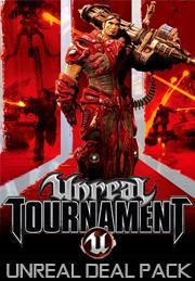 PC (STEAM): PACK 5 juegos: Unreal 2, Unreal Gold, Unreal Tournament 2004, Unreal Tournament Black y Unreal Tournament GOTY