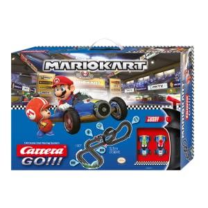 Circuito Carrera- Nintendo Mario Kart-Mach 8 Juego con Coches, Multicolor