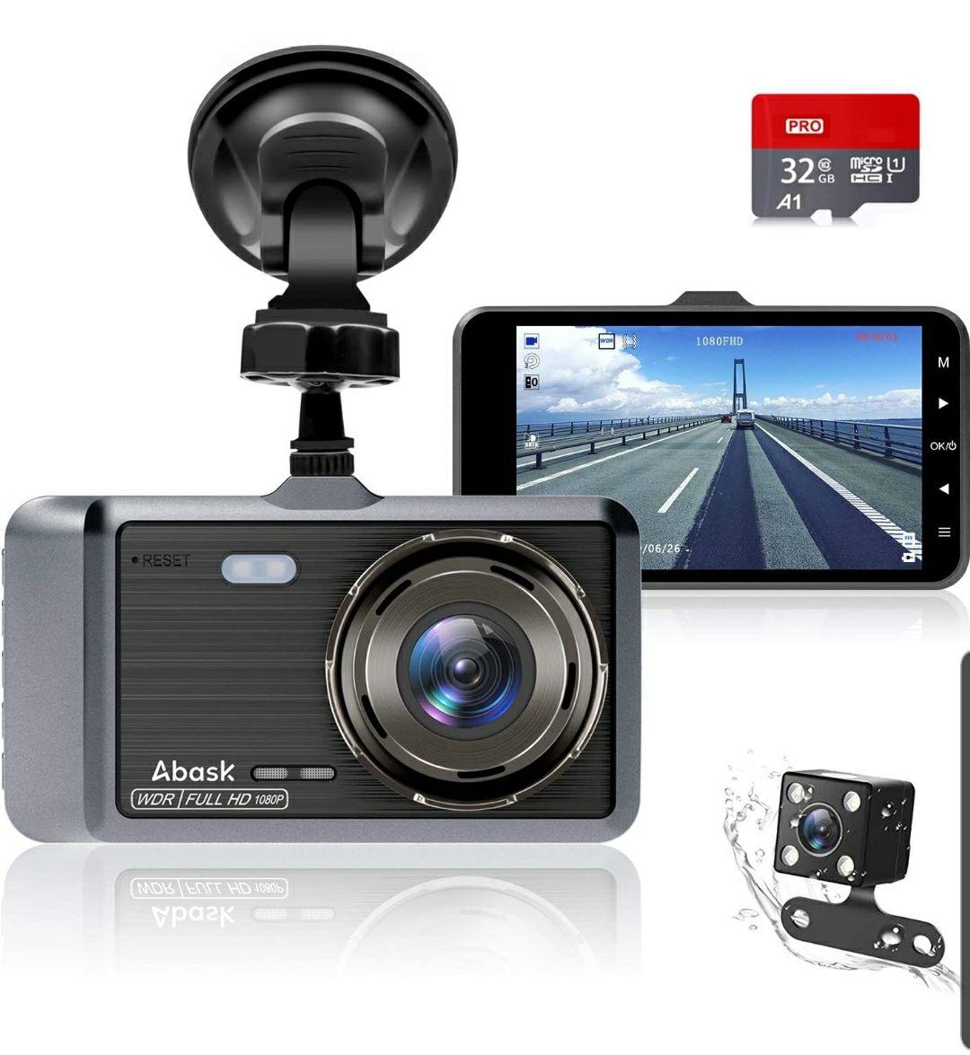 Abask Dashcam 1080p 360°