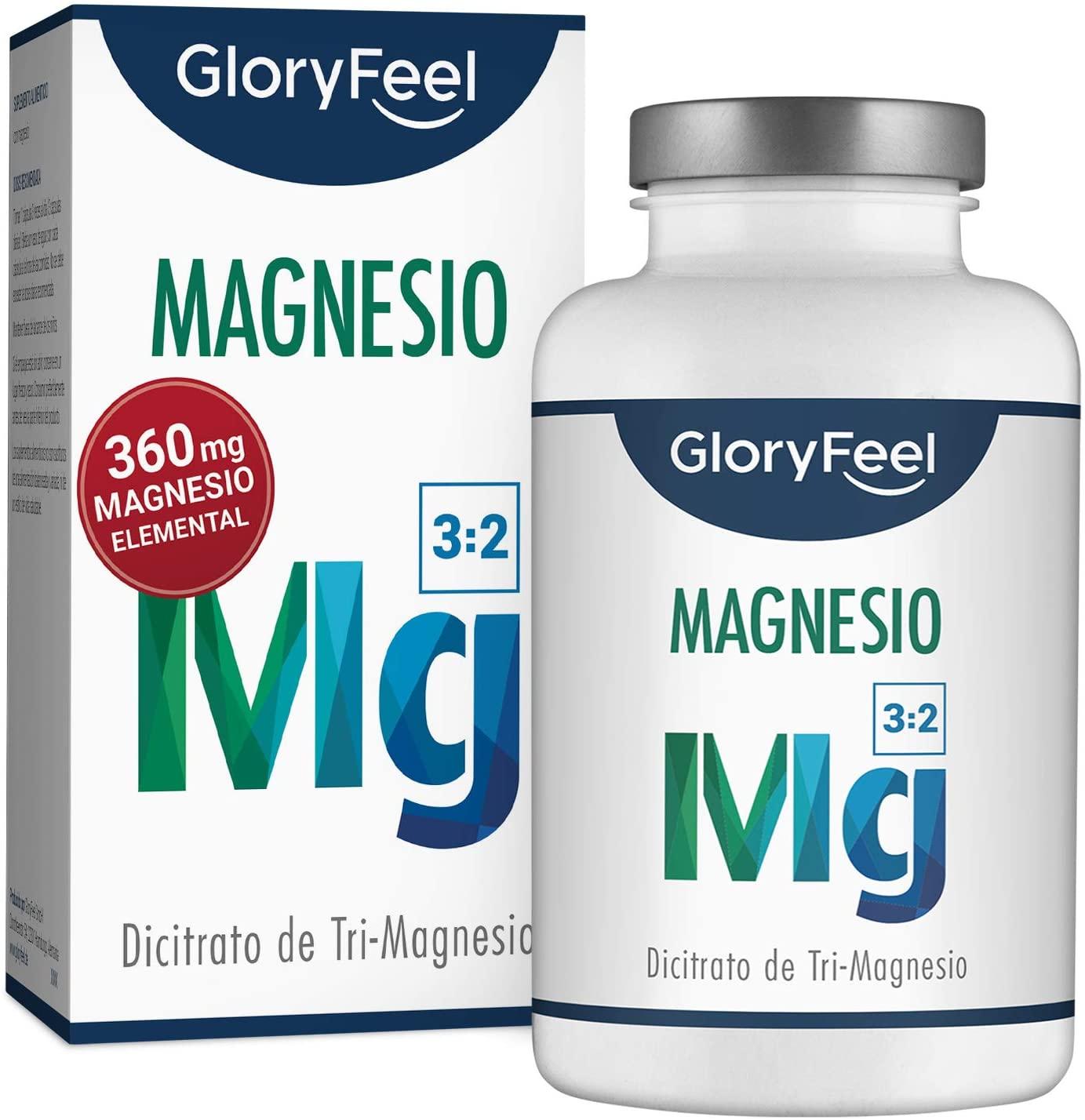 Magnesio, bote de 200 càpsulas