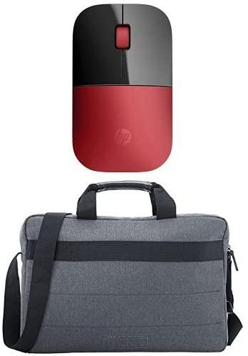 """Pack HP Z3700 RF - Ratón óptico inalámbrico + Funda bandolera para portátil Essential Top Load 15.6"""""""