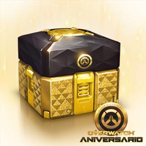 Overwatch :: Gratis Caja de botín de Aniversario legendaria (por iniciar sesión)