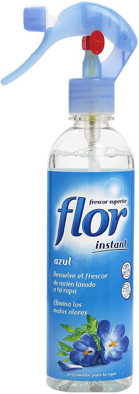 Perfumador para la ropa Flor - Instant Azul de 345 ml (1,22 € con suscripción, sino 1,28 €)