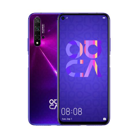 Huawei Nova 5T + Huawei Band 4e