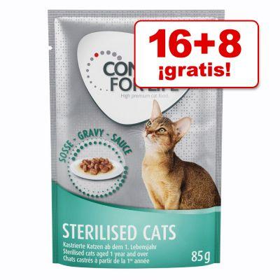 Alimento húmedo gato Concept for Life 24 x 85 g