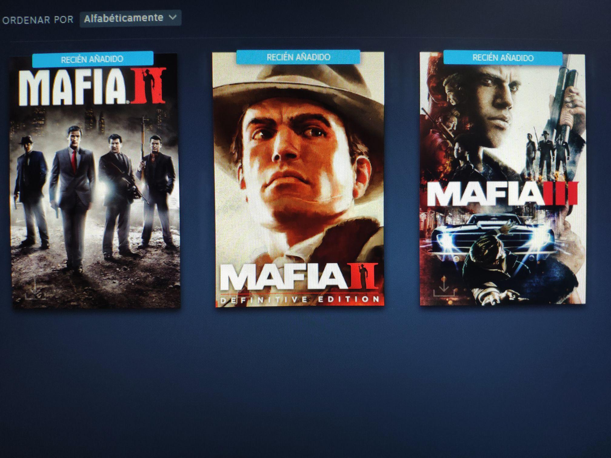 Ediciones definitivas de Mafia II Y Mafia III a 12€ y 7€