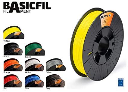 Filamentos de Impresión 3D 1.75 mm, 500g de varios colores - BASICFIL PLA175