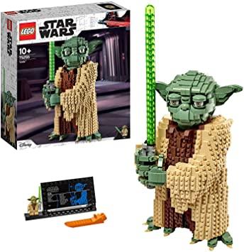LEGO Star Wars TM - Yoda de 41cm, Set de construcción del Personaje Jedi de la Guerra de las Galaxias