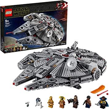 LEGO Star Wars TM - Halcón Milenario, Incluye Minifiguras , Inspirado en La Guerra de Las Galaxias (75257)