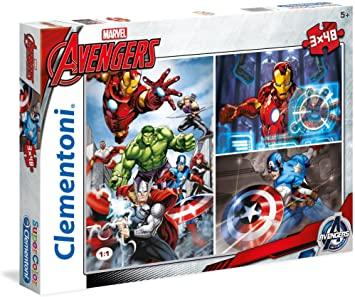 Avengers 3x49 piezas puzzle marca Clementoni