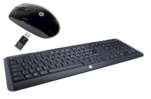 Pack HP Teclado + ratón inalámbricos