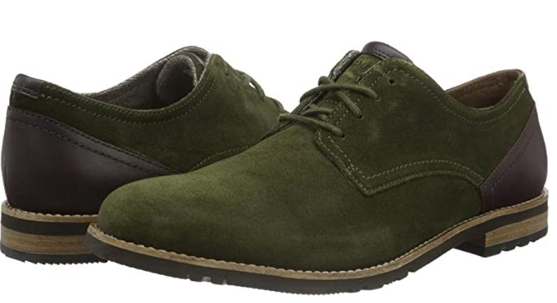 TALLA 44.5 - Rockport Lh2, Zapatos de Cordones Derby para Hombre
