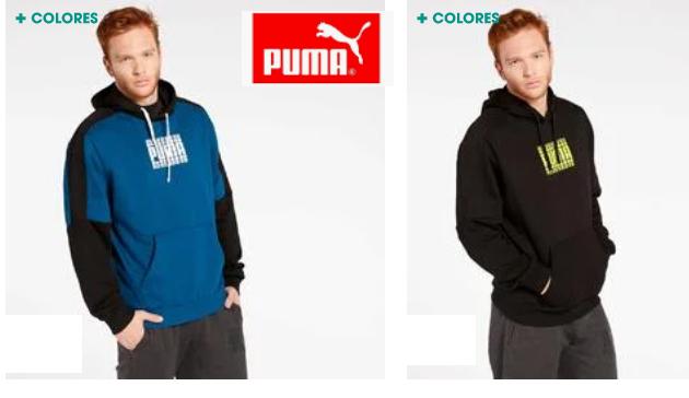 2 COLORES - Puma Rebel Bold, Sudadera para Hombre