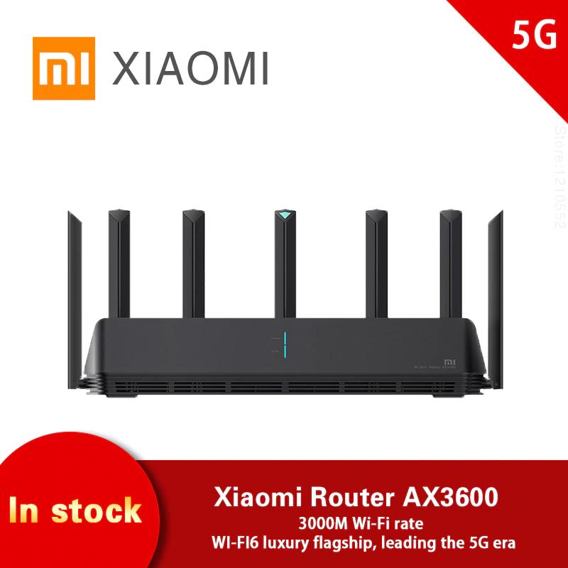 Xiaomi AIoT AX3600 - WiFi Router 2.4GHz + 5GHz