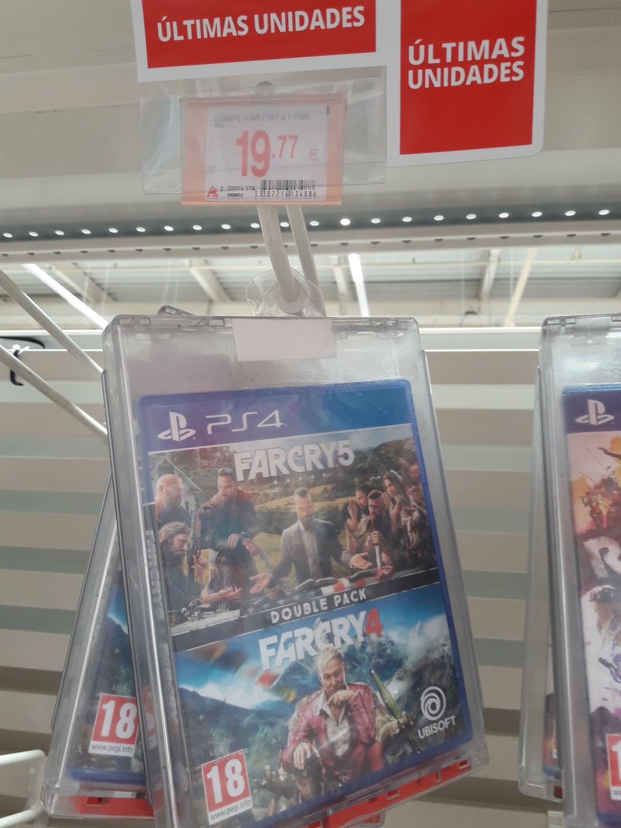 Far Cry 4 + Far Cry 5 Alcampo Motril