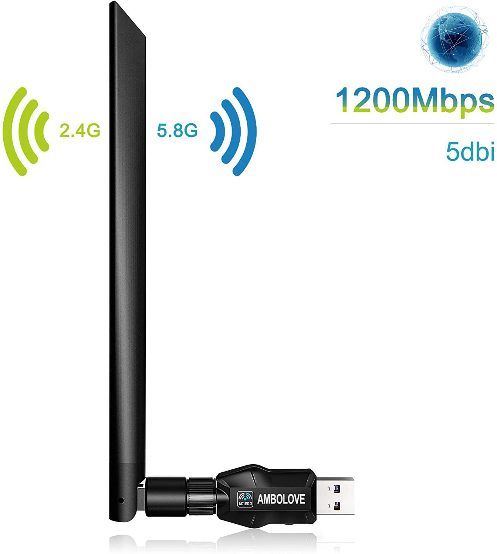 USB WIFI AC 1200Mbps