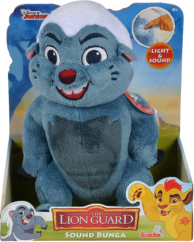 Peluche con Sonidos Bunga Bulunga de la Guardia del León de El Rey León :O