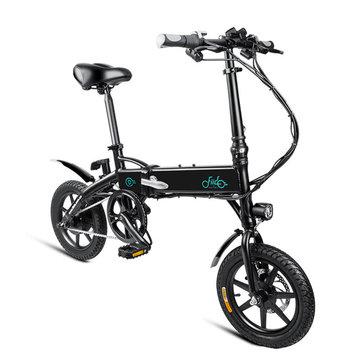 Bicicleta eléctrica FIIDO D1 (Desde UK)