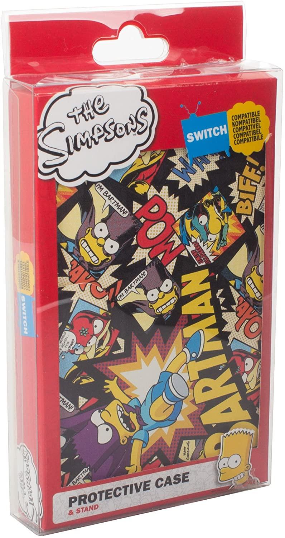 "Carcasa protectora de ""The Simpsons"" Nintendo Switch"