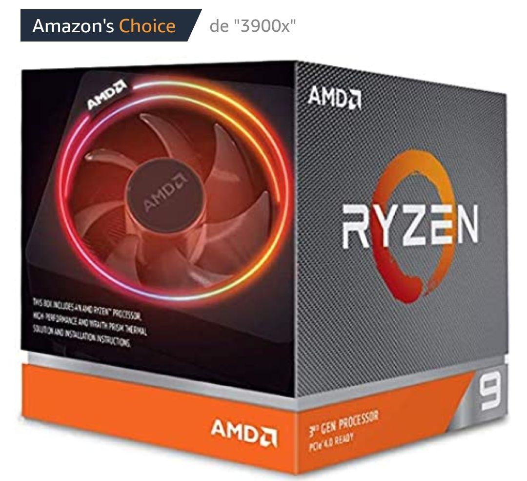 AMD 3900X Ryzen 9 - Procesador con ventilador Premiun Wraith Prism