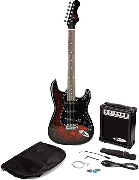 Pack Jaxville Demonio ST: Guitarra eléctrica + Amplificador + Accesorios