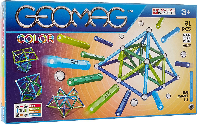 Geomag 91pcs juego construcción solo 16.9€