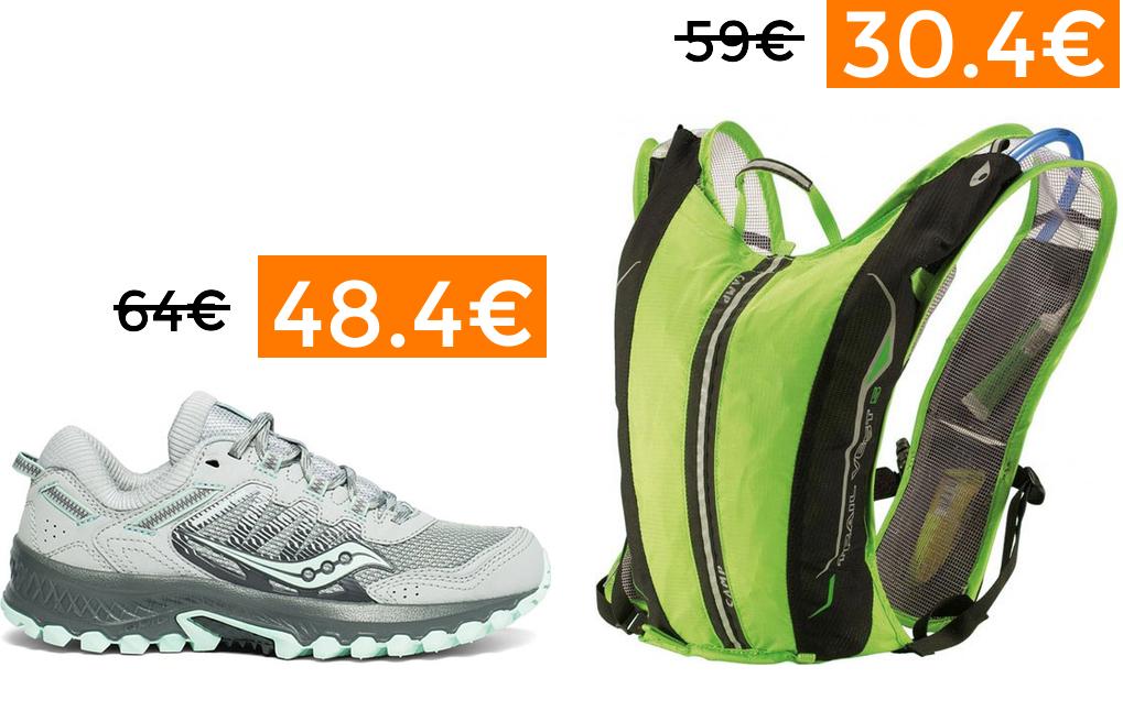 Hasta 60% + 5% EXTRA en Trail Running