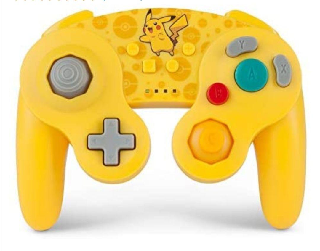 PowerA - Mando inalámbrico para Nintendo Switch GameCube. Estilo GameCube Oro (Nintendo Switch)