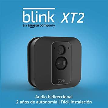 Blink XT2 | Cámara de seguridad inteligente, exteriores e interiores, almacenamiento en el Cloud, audio bidireccional, 2 años de autonomía