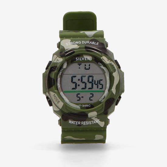 Reloj Silver Resistente al Agua 50m