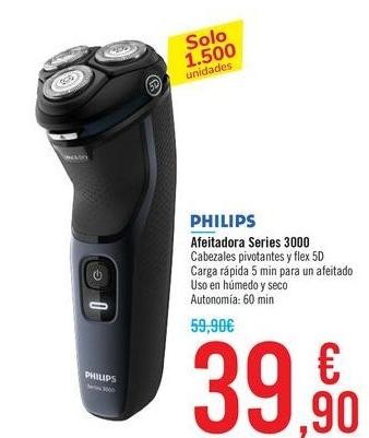 Afeitadora Philips Serie 3000-RED S3134/51
