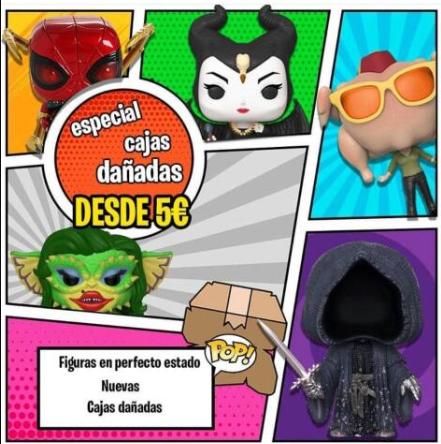 Funko pop a partir de 5€ en FrikiMon