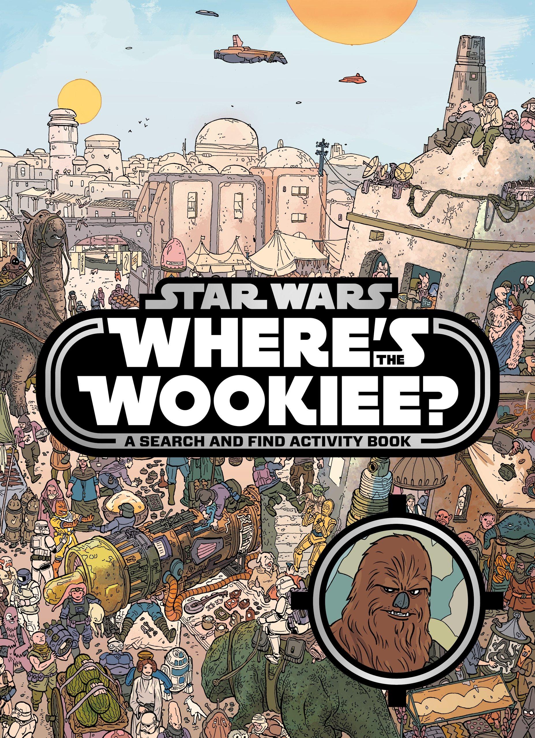"""Encuentra al Wookie - El """"¿Dónde está Wally?"""" versión Star Wars"""