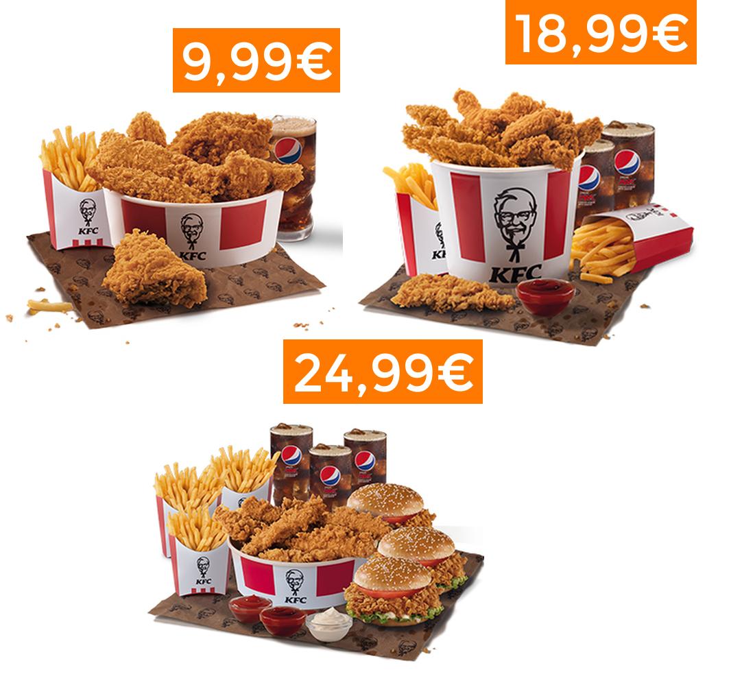 Buckets Solidarios de KFC