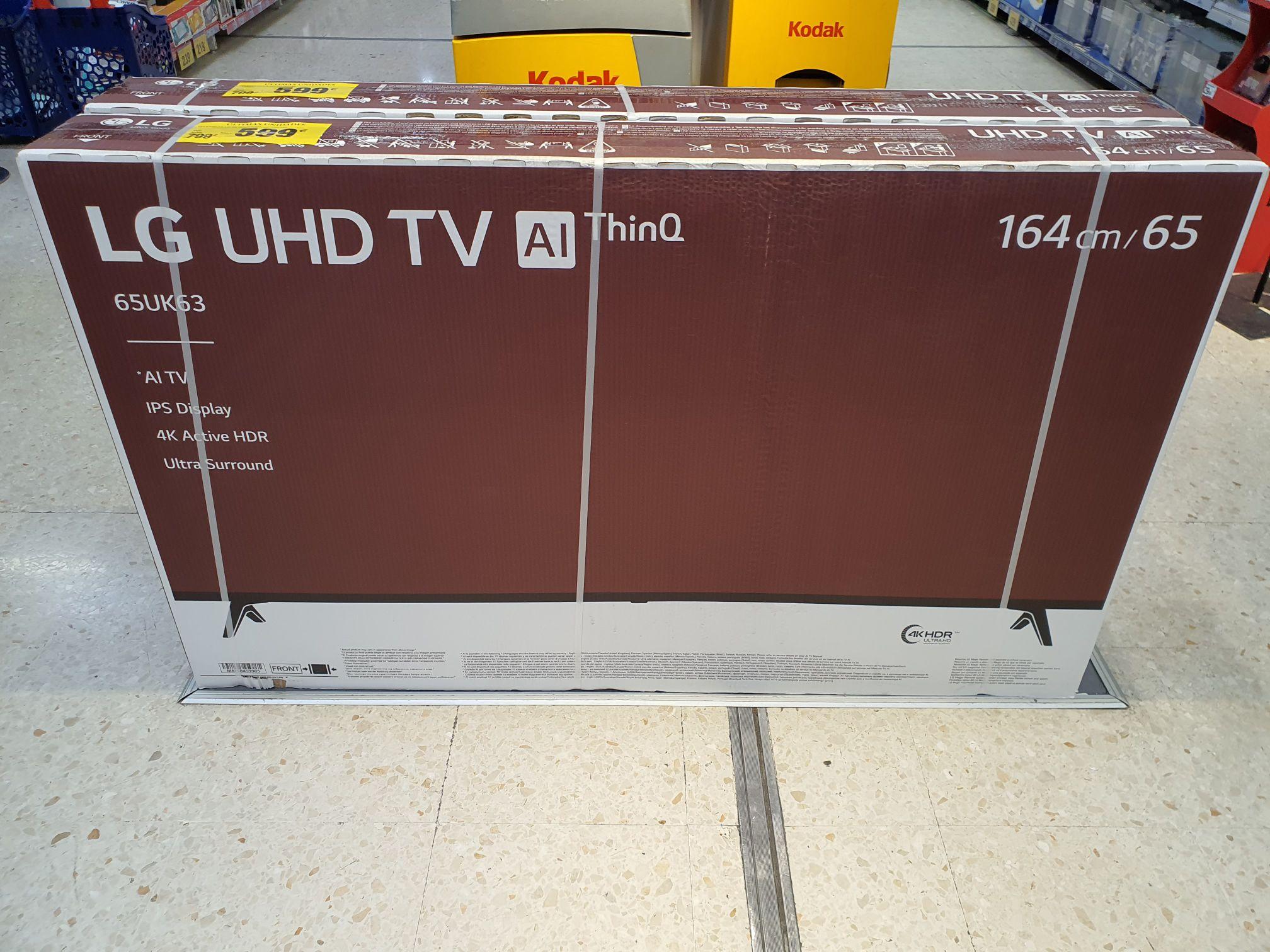 "Tv 65"" LG 65uk6300 4K SmartTv (Carrefour Maquinista)"