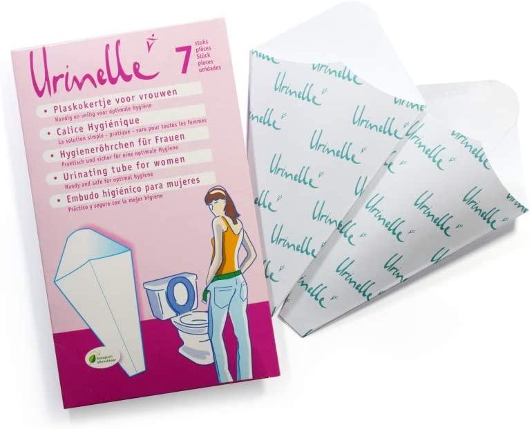 Urinelle higiene y cuidados - Pack compacto de 7 unidades (TSS)