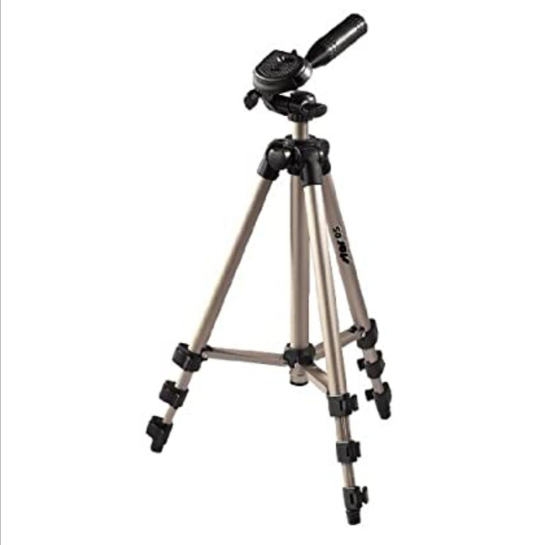 Hama Star 05 - Trípode para cámaras Foto/Video, 106.5 cm, Aluminio, Cabeza 3D,