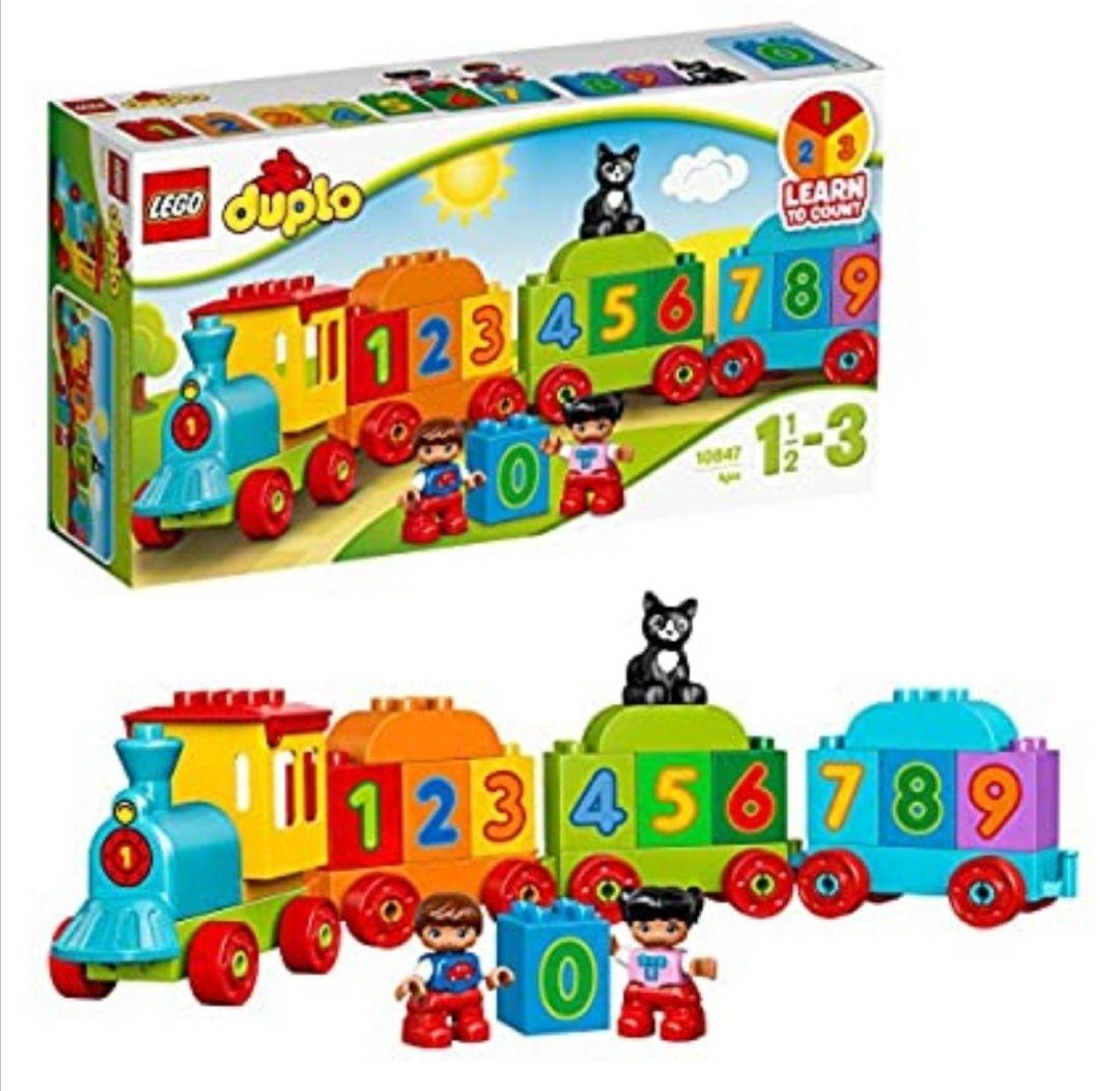 LEGO DUPLO - Mi Primer Tren de los Números, Juguete Preescolar Educativo de Aprendizaje y Construcción