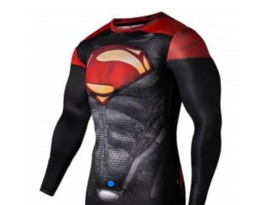 Camisetas deporte Superman