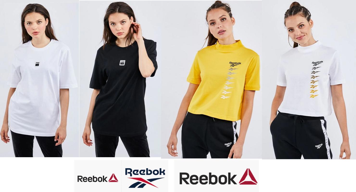 Camisetas Reebok para Mujer por 9.99€/Unidad