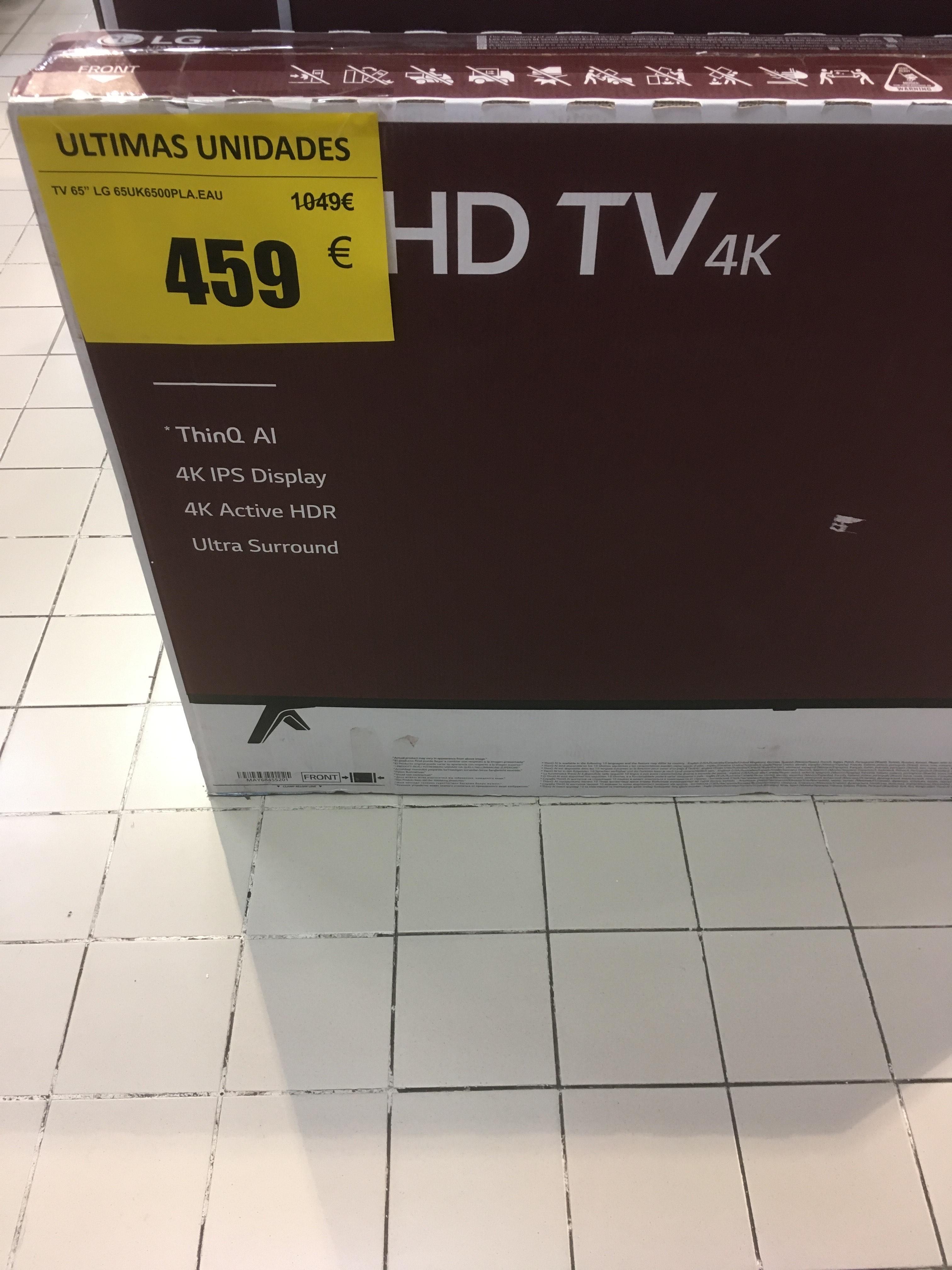 "Tv 65"" LG 65UK6500 4K (Torrelavega)"