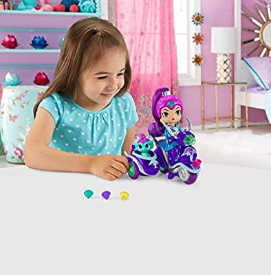 Shimmer y Shine Zeta y su moto, muñeca con accesorios
