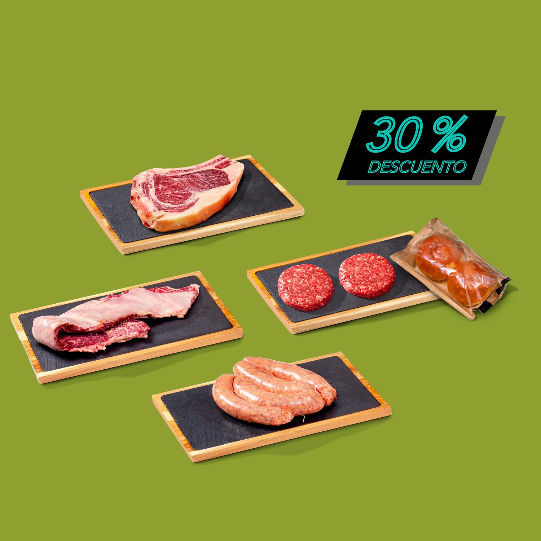 Pack barbacoa al 70%