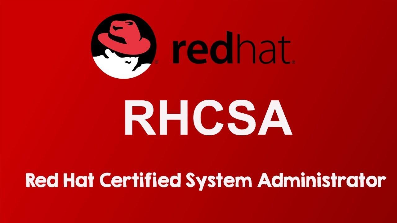 Curso para preparar el examen de certificación de la RHCSA de Linux (Red Hat Certified System Administrator)