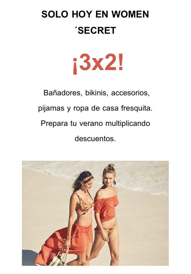 3x2 en ropa outlet de Women's Secret