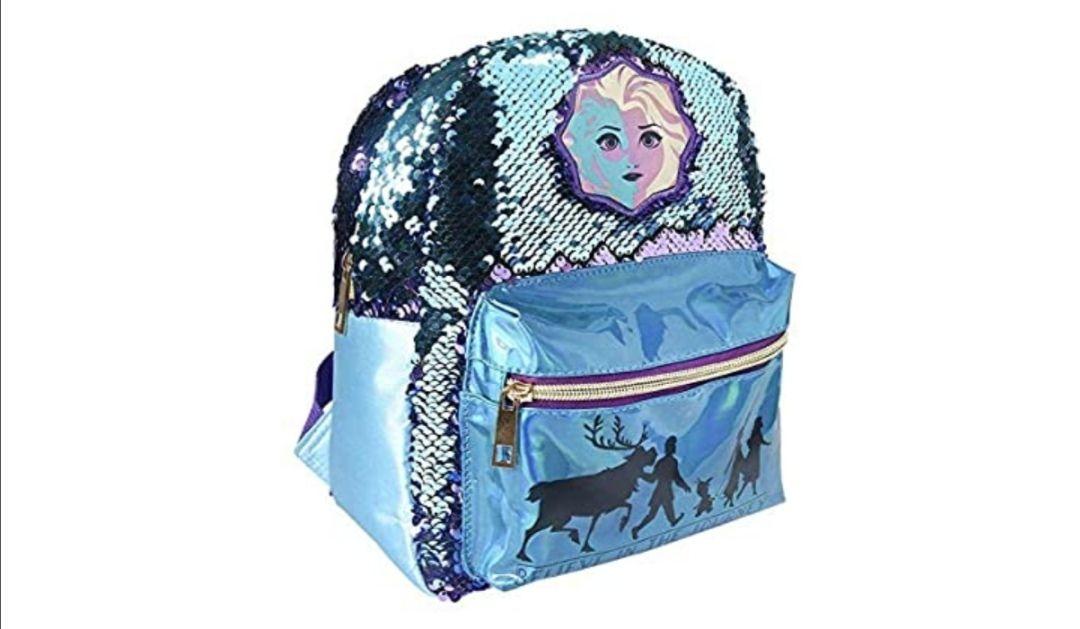 Frozen Casual Lentejuelas Elsa 2 Mochila Tiempo Libre y Sportwear Infantil