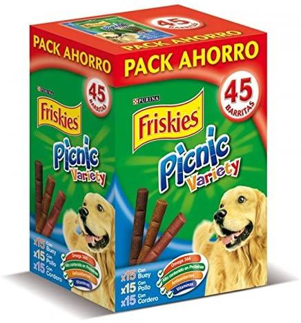 Friskies Picnic Variety Pack 3x15 Snacks Perro 378g