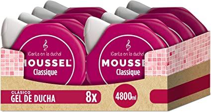 Moussel Gel Líquido Classique Paquete de 8 x 600 ml