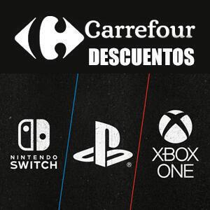Recopilación videojuegos en ofertas (Carrefour)